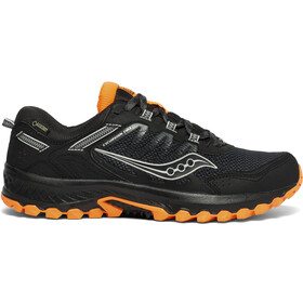 saucony Excursion TR13 GTX Shoes Men black/orange